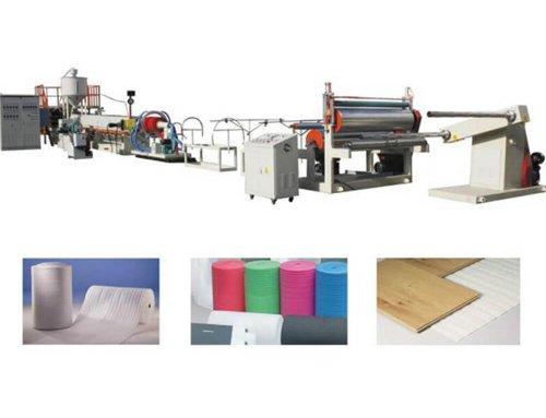 EPE 105 PE Foam Sheet Extrusion Machine