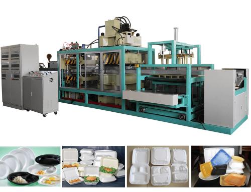 ZR-1380 PS Foam Carton Box Making Machine