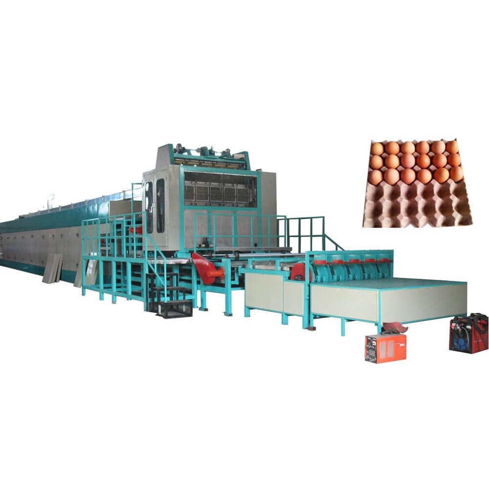 DY-6000 Paper Egg Tray Production Line - plasticextruder