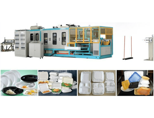 Fully Automatic Mechnical Hand PS Foam Container Forming Machine