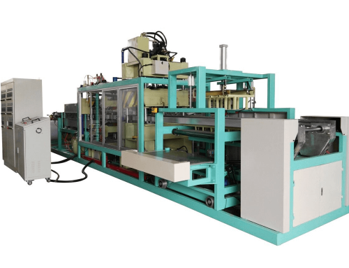 ZR-640 Fully Auto PS Foam Food Box Forming and cutting Machine