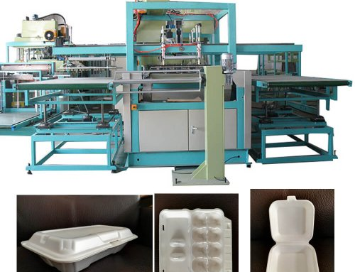 ZR-1040 PS Foam Container Forming Machine